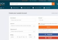 Creat Account Lazada 1