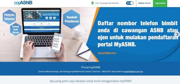 Permalink to Cara Mendaftar Portal MyASNB Step By Step