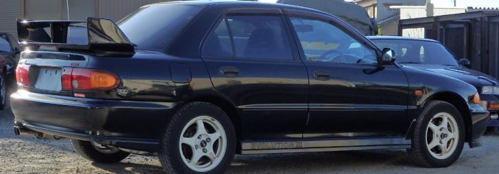 Permalink to Lagenda Kereta Mitsubishi Evolution 1, 2 dan 3