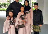 Gambar Raya Cantik Keluarga Aaron Aziz