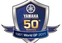 Logo 50th Year Of Gp Racing For Yamaha