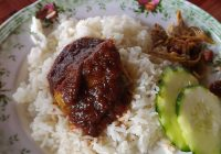 Nasi Lemak Ikan Tongkol
