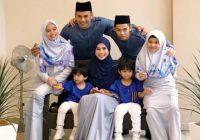 Norman Hakim Bersama Anak Dan Keluarga