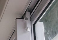 Sliding Door Lock Rumah