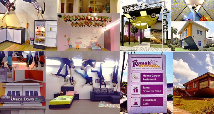 Permalink to 5 Rumah TERBALIK Popular Di Malaysia Jadi Tarikan Pelancong!