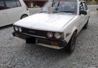 Wajah Asal Kereta Toyota Dx Tahun 1980