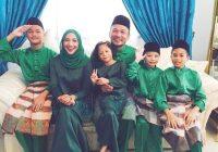Ziana Zain Bersama Anak Dan Suami